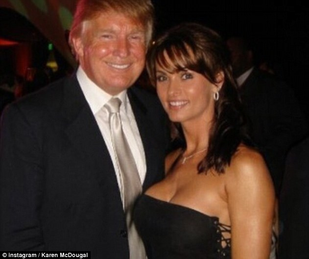 The alleged affair began shortly after the birth of Trump's son, Baron