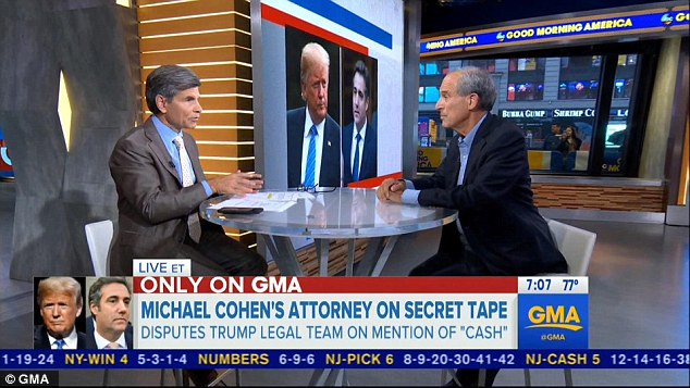 Davis insists that Trump is a serial liar, and that his client Cohen is ready to tell the truth and let the chips fall where they may
