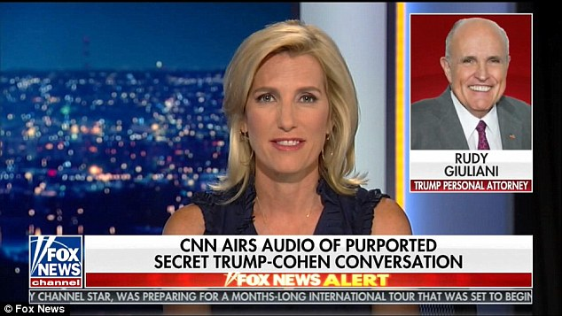 Trump's lawyer, former New York City Mayor Rudy Giuliani, insisted Tuesday night on Fox News that the president's voice isn't on any of the other recordings still under wraps