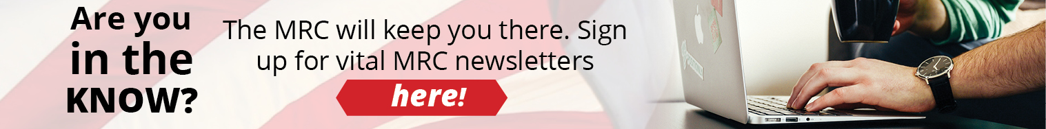 Sign Up for MRC Newsletters!